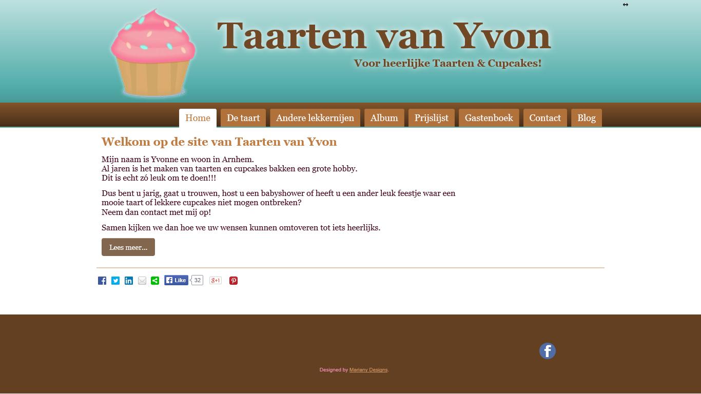 taartenvanyvon.nl
